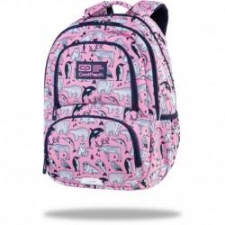 """Różowy plecak szkolny CoolPack PINK OCEAN zwierzaki SPINER TERMIC CP 16"""""""