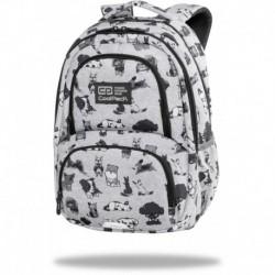 """Plecak z pieskami CoolPack DOGGIES szary szkolny SPINER TERMIC CP 16"""""""