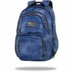 "Niebieski plecak do 7 klasy CoolPack FOGGY BLUE męski AERO CP 17"""