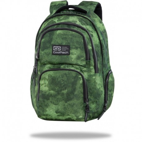 "Plecak do liceum CoolPack FOGGY GREEN zielony AERO CP 17"" - Cool-pack.pl"