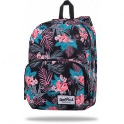 """Miejski plecak w kolorowe liście CoolPack TROPINK dziewczęcy SLIGHT CP 13"""""""