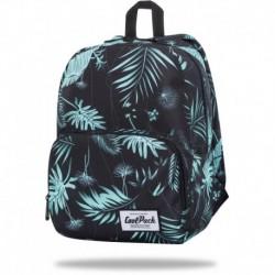 "Mały plecak w liście CoolPack GREEN HAWN damski SLIGHT CP 13"""