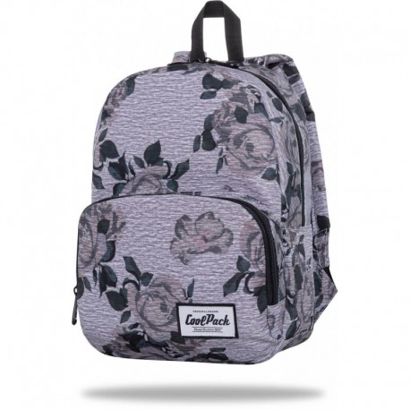 "Modny plecak mały CoolPack GREY ROSE szary w róże SLIGHT CP 13"" - Cool-pack.pl"
