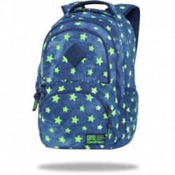 """Plecak jeansowy CoolPack DENIM YELLOW STARS gwiazdki DART CP 17"""""""