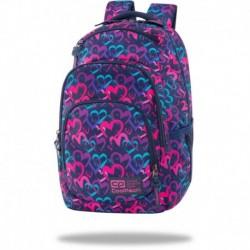 """Plecak szkolny CoolPack dla dziewczynki do 4 klasy DRAWING HEARTS kolorowe serduszka VANCE 17"""""""