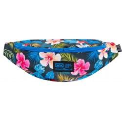 Saszetka nerka damska CoolPack CHINA ROSE kolorowe kwiaty TRICK CP