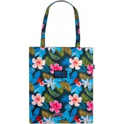 Torba damska CoolPack SHOPPER BAG modna w kwiaty CHINA ROSE CP