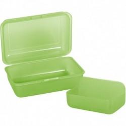 Pudełko śniadaniowe zielone 2w1 CoolPack FROZEN 2 unisex GREEN