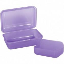 Śniadaniówka z przegródkami CoolPack FROZEN 2 pastelowa fioletowa PURPLE