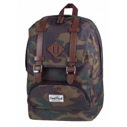 CITY Plecak szkolny CAMOUFLAGE (1023) CoolPack CP