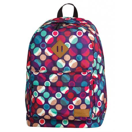 CROSS Plecak szkolny MOSAIC DOTS 25 L (720) CoolPack CP