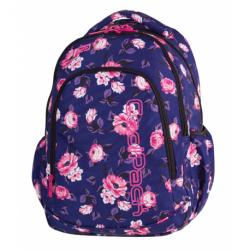 PRIME Plecak do szkoły CoolPack CP - dla dziewczynki eteryczne romantyczne róże ROSE GARDEN 23L - A1058 + COOLER BAG gratis!